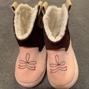 Infant boot slippers